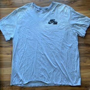 Nike air the Nike tee athletic cut T-shirt 3xl